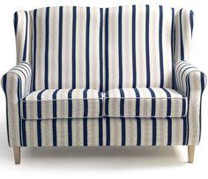 Max Winzer 2er Sofa LORRIS STRIPES