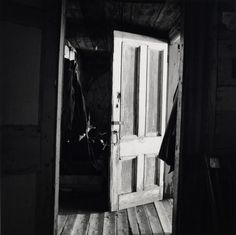 by Walker Evans Interior view of Robert Frank's house, Nova Scotia, 1969-71. [x]