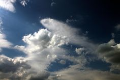 Countryside blue sky with white and dark clouds over forest Public Domain, Countryside, Clouds, Sky, Dark, Nature, Photos, Blue, Outdoor