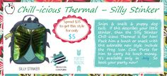 ~Chill-icious Thermal~ in ~Silly Stinker~ coming this July 2014!   www.mythirtyone.com/christine123