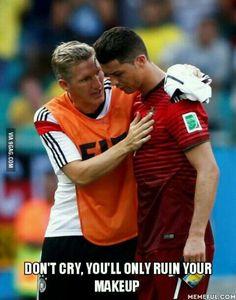 ஜ Don't let them see you cry.