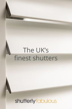 Window Shutters Uk, Shutters With Curtains, Sash Windows, Bay Window Dressing, Painting Shutters, Custom Shutters, Cafe Style, Window Dressings, Architectural Features