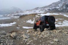 just a Jeep in its natural habitat :) Green Jeep, Pink Jeep, Black Jeep, Blue Jeep Wrangler, Jeep Cj, Jeep Wranglers, Off Road Truck Accessories, Jeep Jk Unlimited, Atvs