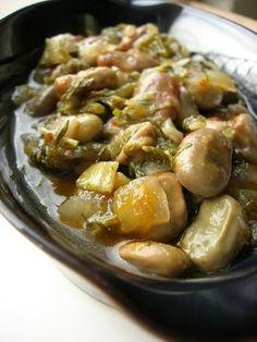 Fava Beans à la Turque (Zeytinyağlı İç Bakla)