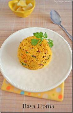 Rava Upma–Easy Breakfast Recipe