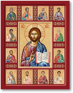 Discover all of the meaningful icons of Christ, such as the Christ the True Vine Icon today at Monastery Icons. Monastery Icons, True Vine, Christian Artwork, Byzantine Icons, Romulus And Remus, Art Icon, Orthodox Icons, Kirchen, Religious Art