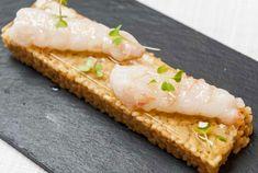 Arroz meloso de pescadores del Mediterráneo y cigalas de Sant Carles de la Ràpita con velo de caldo dashi de Raúl Resino | Gastronomía & Cía
