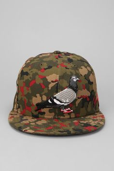 Staple Starter Pigeon Snapback Hat  UrbanOutfitters Indie Clothing Brands 8436a6539e25