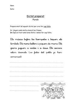 Dictats preparats català 2n by Lila via slideshare