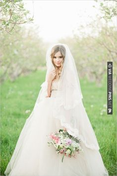 veil by Wedding Gowns by Daci | CHECK OUT MORE IDEAS AT WEDDINGPINS.NET | #bridesmaids
