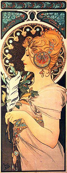 art nouveau | Expo sur les peignes de l'Art Nouveau - Toulouse Lautrec