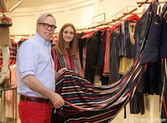 Tommy Hilfiger and Olivia Palermo at the Tommy Hilfiger flagship store in Beijing, China - May 2015 #TommyChina