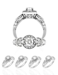 Available in white gold or platinum. Choose from up to Center Stone. Hawaiian Heirloom Jewelry, Heirloom Rings, Hawaiian Jewelry, Band Engagement Ring, Wedding Ring Bands, Hawaiian Wedding Rings, Custom Wedding Rings, Jewelry Companies, Jewelry Rings