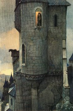 "assemblyfairytale: ""Castles (by Alan Lee and David Day) """