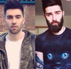 Beard Fashion, Men's Fashion, Trending Beard Styles, Chris Millington, Chris John, Awesome Beards, Beard No Mustache, Hipsters, Hair And Beard Styles