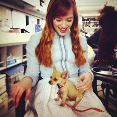 """Elizabeth Lail: """"Anna and Pepito #onceuponatime"""""""