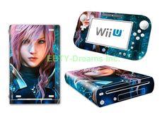EBTY-Dreams Inc. - Nintendo Wii U - Final Fantasy 13 FFXIII FF13 Lightning Vinyl Skin Sticker Decal Protector. International shipping available through Ebay: http://stores.ebay.com/ebty-dreams-inc Amazon: https://www.amazon.com/dp/B01LMNT1IU