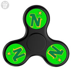 ToyHouse Fidget Spinner Minnesota North Stars Vintage Tek Tri-Spinner High Speed Spin Stress Reducer Relieve Anxiety And Boredom Helps Focus Make Fun For You - Black - Fidget spinner (*Amazon Partner-Link)