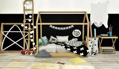MXIMS - Bambooko Toddlers Bed and Blanket Bambooko House...