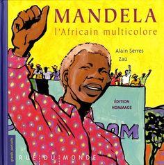 Nelson Mandela a vu le jour sous le nom de Rolihlahla. Sept ans plus tard, lors de son entrée à l'école, on l'obligeait à prendre un prénom plus britannique…   Nelson Mandela a passé 27 années entre quatre murs à Robben Island... Ecrit par Alain Serre et, illustré par Zaü qui au coeur du livre, sur notamment 27 pages représente cette éternité : 27 dessins en noir et blanc, encadrés par deux bandes rouges qui disent l'enfermement. Littérature dès 10 ans