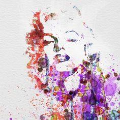 Marilyn Monroe Pôsteres por NaxArt na AllPosters.com.br