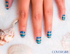 DIY Nail Art: 'Beach Fever' en Español