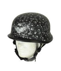 German Motorcycle Helmet, Novelty Motorcycle Helmets, Novelty Helmets, Motorcycle Gear, Riding Helmets, Matte Black, Black And Grey, Gray