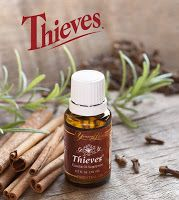 Young Living thieves oil is a blend of clove, lemon, cinnamon, eucalyptus, and rosemary. Learn about pure therapeutic-grade thieves essential oil uses. Young Living Thieves Oil, Young Living Oils, Young Living Essential Oils, Thieves Essential Oil, Essential Oil Uses, Pure Essential, Oils For Sore Throat, Flu Remedies, Natural Remedies