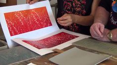 """""""Free Lino Print Art Lessons with Anna Curtis"""" This is a 24 minute vid showing a complete linocut reduction print. Excellent professional vid by """"Colour in Your Life"""" and generous sharing of information. Woodcut Art, Ap Studio Art, Art Activities For Kids, Teaching Art, Art Tips, Art Techniques, Art Education, Art Tutorials, Art Lessons"""