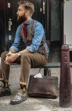 Trending macho beard style inspiration 21