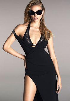 7f26d77e99 Natasha Poly wears lace bra stars in La Perla lingerie spring-summer 2016  campaign Spring