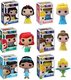 Funko POP! Disney Princesses. <3 <3 <3