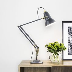 Original 1227™ Brass Desk Lamp By George Carwardine, from Anglepoise | YLighting