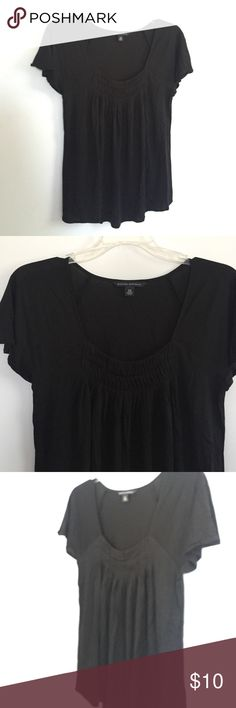 Banana Republic Black Blouse XS Worn once. Excellent condition! Banana Republic Tops Blouses