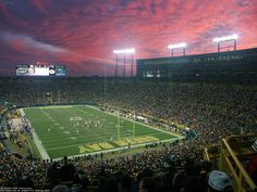 Home of the Green Bay Packers - Visiting Lambeau Field in Green Bay Wisconsin