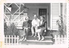 Black and White Vintage Snapshot Photograph Family Dress Steps Smile 1950'S | eBay