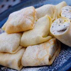 Black sesame tofu cheesecake wrap