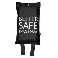 Sammutuspeite Better Safe musta 10,00€