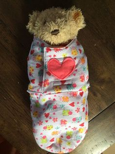 Riches & Roses Handmade for Kids: Baby Doll Swaddle - Pattern and Tutorial - Easy DIY