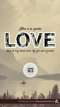 Greater love has no one than this: to lay down one's life for one's friends. -John 15:13 Postcard available at https://www.zazzle.com/john_15_13_there_is_not_greater_love_postcard-239602764152641275 #John #postcard #love #life #laydown #Jesus #Christ #bibleverses #bible
