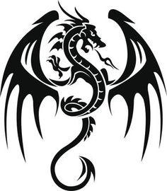 Dibujos de dragones para tatuajes - Cuerpo y Arte