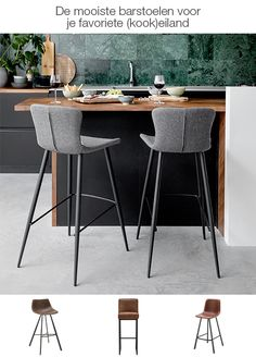living room ideas – New Ideas Kitchen Stools With Back, Stools With Backs, New Kitchen, Kitchen Interior, Kitchen Decor, Mid Century Bar Stools, Kitchen Queen, Bar Chairs, Counter Stools