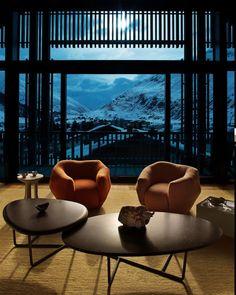 Au cœur de l'étoile montante des alpes suisses, l'architecte star, Pierre…