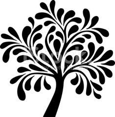 Choose from 60 top Tree stock illustrations from iStock. Find high-quality royalty-free vector images that you won't find anywhere else. Stencil Patterns, Stencil Painting, Fabric Painting, Tree Stencil, Stenciling, Plotter Silhouette Cameo, Tree Silhouette, Sgraffito, Gourd Art