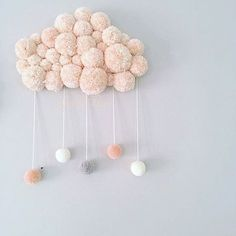 ideas for knitting baby diy pom poms Knitting Projects, Craft Projects, Knitting Ideas, Spool Knitting, Kids Knitting, Decor Crafts, Diy And Crafts, Easy Crafts, Diy For Kids