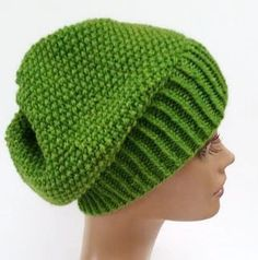 Spring Green Slouchy Hat Irish Green Slouchy Hat by HideyHoleHats Valentine Hats, Valentines For Daughter, Cool Beanies, Spring Green, Bright Spring, Halloween Hats, Slouchy Beanie, Yarn Colors, Wool Yarn