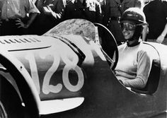 Maria Teresa de Filippis. First woman in Formula 1. Placed 2nd in the 1954 Italian Sports Car Championship. Fantastic.