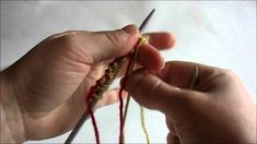 Great Video for beginner knitters by Really Clear: How to Do a Long-Tail Cast On for Knitting Craft Materials, Great Videos, Beautiful Patterns, Knitting Patterns, Knit Crochet, It Cast, How To Make, Youtube, Needlecrafts