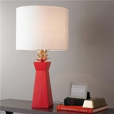 Golden Bloom Table Lamp