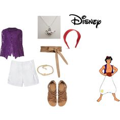 Aladdin inspired outfit